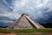 Mayan pyramid in Mexico — Stock Photo