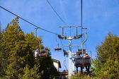 Ropeway with pepole — Stock Photo