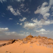 Stone and sand in the Desert — Stock Photo #17851361