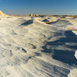 White Desert in Egypt — ストック写真