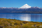 Lanin volcano, Lanin National Park, — Stock Photo