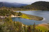 Lago Menéndez, Parque Nacional los alersis, patagonia, argentina — Foto de Stock