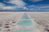 Salinas grandes — Stock Photo