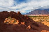 Rock formation, El Cafayate — Stock Photo