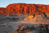 Renkli kaya oluşumu — Stok fotoğraf