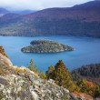 Heart island, lake Mascardi, Patagonia, Argentina — Stock Photo #25708159