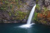Waterfall Los Alerces, Patagonia, Argentina — Stock Photo