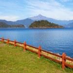 Volcano Choshuenco, ecopark Huilo Huilo, Villarica, Patagonia, Chile — Stock Photo #26905539