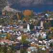 Stock Photo: View of the city San Martin de los Andes, Patagonia, Argentina