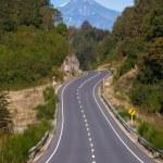 Volcano Choshuenco, ecopark Huilo Huilo, Villarica, Patagonia, Chile — Stock Photo