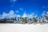 Bavaro Beach, Punta Cana, Dominican Republic — Stock Photo