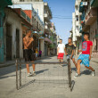 HAVANA, CUB- JUNE 23: scene from life of inhabitants — Stock Photo #29335261