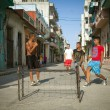 HAVANA, CUBA - JUNE 23: A scene from the life of the inhabitants — Stock Photo #29335261