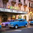 HAVANA, CUBA - JUNE 24: Vintage cars on the streets of Havana — Stock Photo #29335537