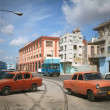 HAVANA, CUBA - JUNE 26: Vintage cars on the streets of Havana — Stock Photo