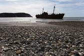 Ship-wreck Desdemona — Zdjęcie stockowe
