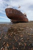 Ship-wreck Desdemona — Stock Photo