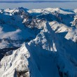 Peaks Olivia and Seven Brothers, Ushuaia — Foto Stock