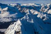 Peaks Olivia and Seven Brothers, Ushuaia — Stock Photo