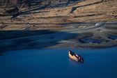 Wrak statek w pobliżu ushuaia — Zdjęcie stockowe