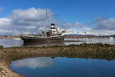 Ship wreck near Ushuaia — Stock Photo