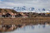 A view of Ushuaia, Tierra del Fuego. — Stock Photo