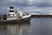 Ship wreck near Ushuaia — Stock Photo