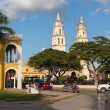 Stock Photo: Colonial architecture in Campeche