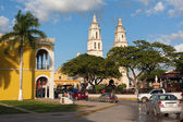 Colonial architecture in Campeche — Stock Photo