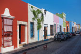 Colonial architecture in Campeche — Foto Stock