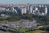 View from the helicopter for Buenos Aires — Stock Photo
