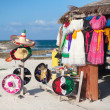 Stock Photo: Multi-colored souvenirs and national craft