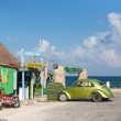 Постер, плакат: Old cars on the island Cozimel
