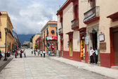 The street of Oaxaca, Mexico — Stock Photo