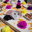 Altar of dead is obligatory attribute of Traditional Day of dead — Stock Photo #35220213