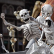 Skeletons is obligatory attribute of Traditional Day of Dead — Stock Photo #35221915