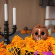 Altar of dead is obligatory attribute of Traditional Day of dead — Stock Photo #35223097