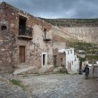 Streets of the city Real de Catorce - one of the magic towns in  — Stock Photo