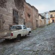 Streets of the city Real de Catorce - one of the magic towns in  — Стоковая фотография