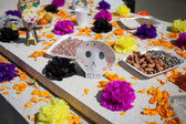 Altar of the dead is obligatory attribute of Traditional Day of the dead — Stock Photo
