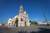Cathedral in the ancient city Aguascalientes, Mexico — Stock Photo