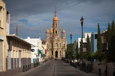 Catedral de la antigua ciudad aguascalientes, México — Foto de Stock