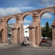 Old aqueduct of colonial city Zacatecas, Mexico — Stock Photo #35288501