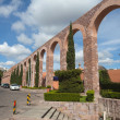 Old aqueduct of colonial city Zacatecas, Mexico — Stock Photo