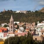 Colorful colonial city Zacatecas, Mexico — Stock Photo