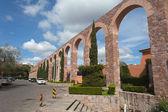 Starý akvadukt koloniální města zacatecas, mexiko — Stock fotografie