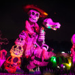 Постер, плакат: AGUASCALIENTES MEXICO NOV 02: Figures of skeletons on a carniv