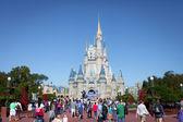 MAGIC KINDOM DISNEYWORLD, ORLANDO, FLORIDA, USA - DEC 27: The M — Stock Photo
