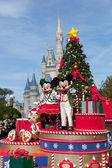 MAGIC KINDOM DISNEYWORLD, ORLANDO, FLORIDA, USA - DEC 26: Chris — Stock Photo