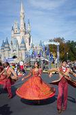 MAGIC KINDOM DISNEYWORLD, ORLANDO, FLORIDA, USA - DEC 26: Chris — Stockfoto